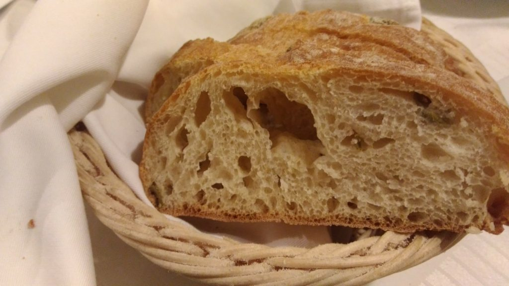 Vadvirág Étterem Bogács - A kenyérkosár.