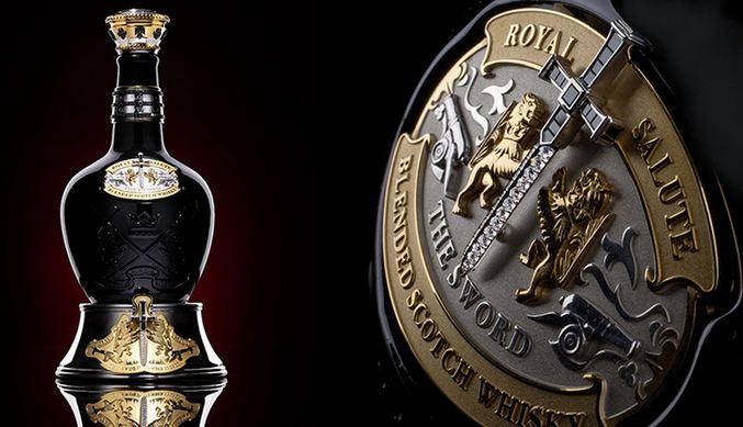 Royal Salute Tribute to Honor a világ legdrágább italainak egyike. GasztroMagazin