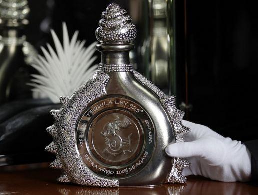 Tequila Ley 925 a világ legdrágább italainak egyike. GasztroMagazin 2017.