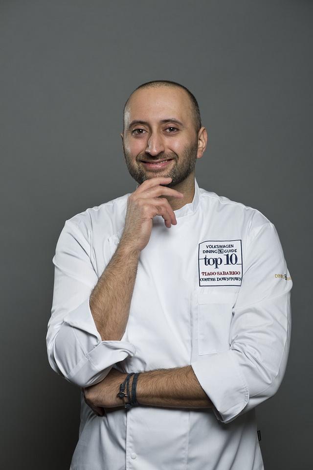 Tiago Sabarigo, Costes Downtown. GasztroMagazin 2018.
