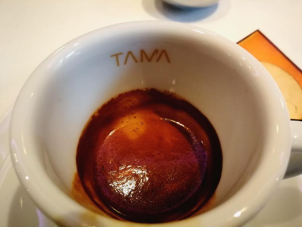 Gianni Frasi kávéja....