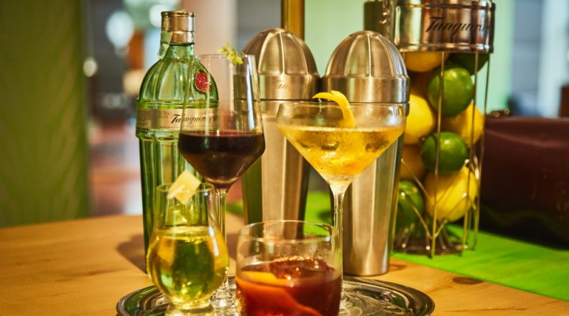 Tanqueray Furmint. Gin cocktail az Intercontinental Budapest Hotelben. GasztroMagazin 2018.