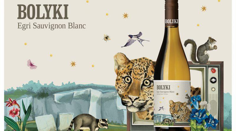 Egri Sauvignon Blanc. Új boroscímke-család a Bolyki Pincészet borain Ipacs Géza tervezésében. GasztroMagazin 2018.