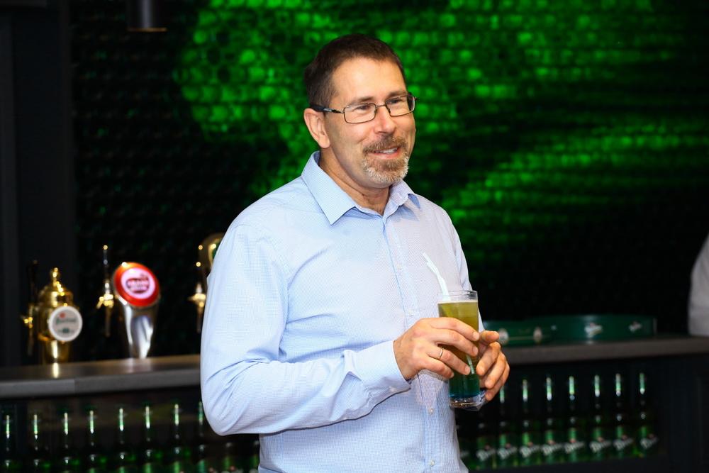 Vásárhelyi István sörgasztronómus, a sörvacsora programok másik atyja.