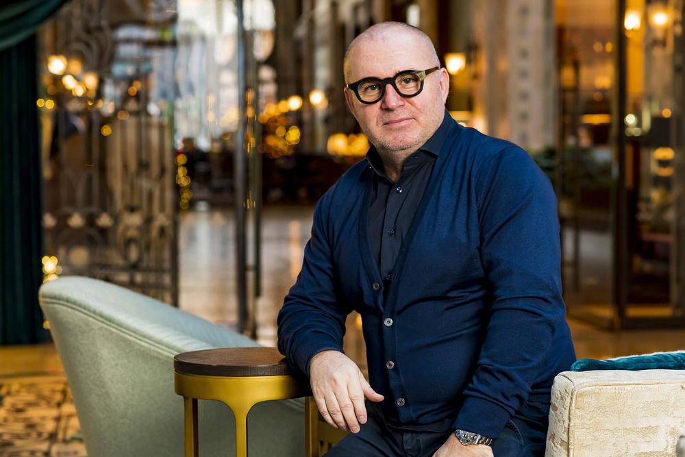 Herczeg Zoltán, a Dining Guide kiadvány szerkesztője.