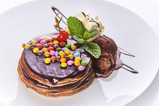 Choco Love. A Creppy csokoládés palacsintatortája.