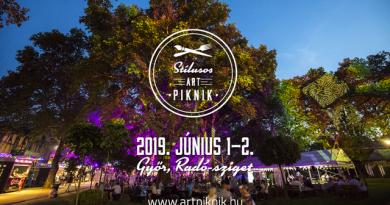 Stílusos ART Piknik 2019.06.1-2. Győr. GasztroMagazin 2019.
