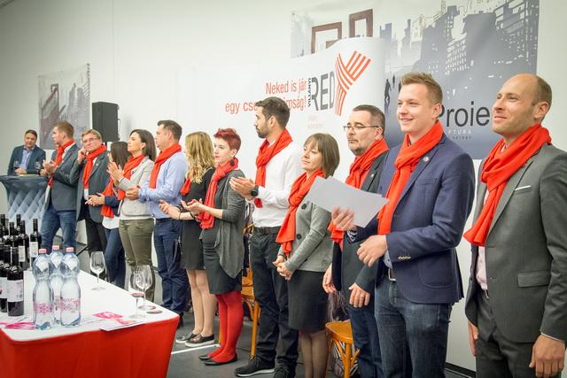 A REDy termelői is felsorakoznak a bemutatón a Societé Bistróban.