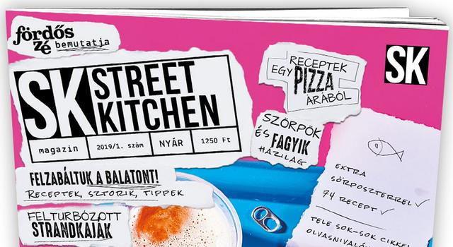 Egész nyáron balatoni tematikával jelenik meg a Street Kitchen Magazin. GasztroMagazin 2019.