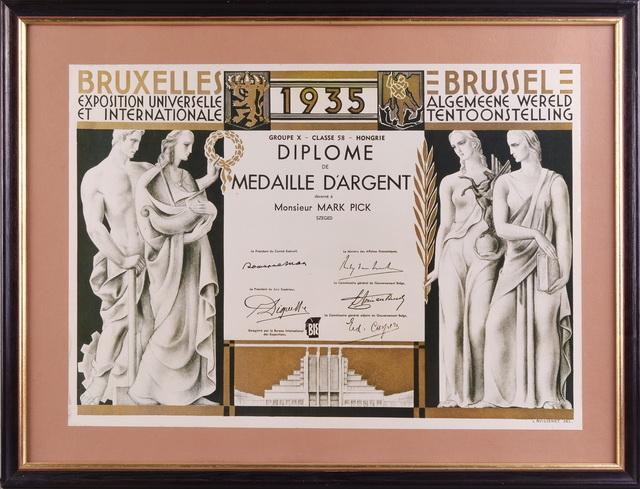 A Pick már az 1935-ös brüsszeli világkiállításon ezüstérmet szerzett.