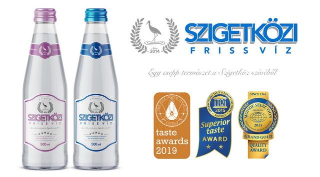 Nemzetközi díjat nyert a Szigetközi Friss Víz. GasztroMagazin 2019.