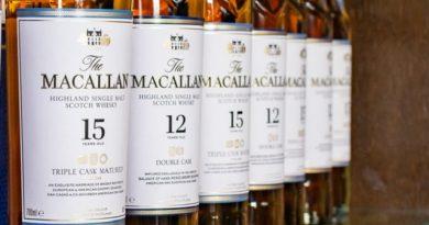 Magyarországon járt a Macallan whisky nemzetközi márkanagykövete Anna G. Metaxas. GasztroMagazin 2019.