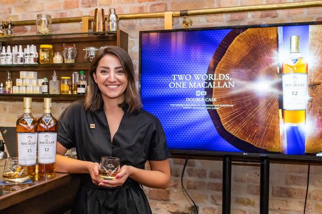Anna G. Metaxas, a Macallan nemzetközi márkanagykövete