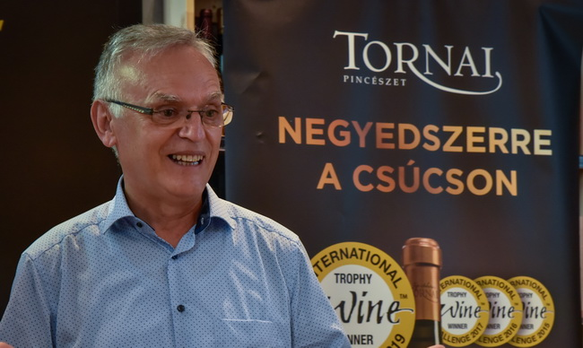 Tornai úr, a Tornai Pincészet tulajdonosa