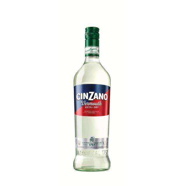 Cinzani Vermouth Extra Dry, a megújult italcsalád harmadik tagja, a közkedvelt cocktail alapanyag