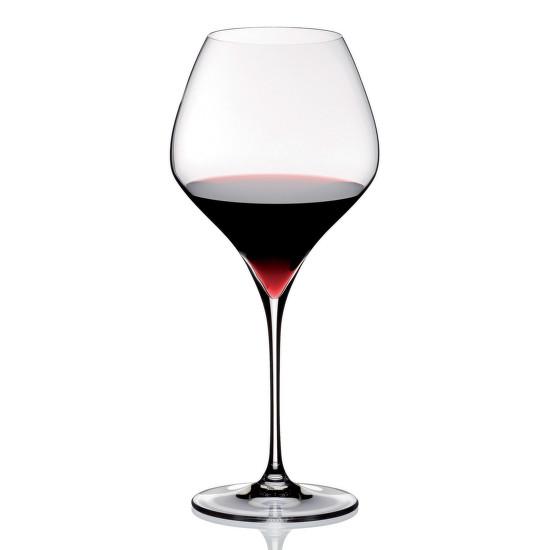 Ismét a Riedel Vitis sorozata, annak a Pinot Noir-pohara illusztrálja ezúttal a burgundis pohár egyedi jellegét