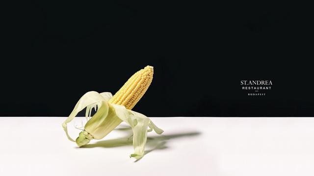 Kukorica. A St. Andrea Restaurant megújuló vacsoramenüjének egyik alapanyaga