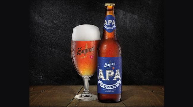 A Soproni Óvatos Duhaj APA söre aranyérmet nyert az Ale kategóriában. GasztroMagazin 2019.