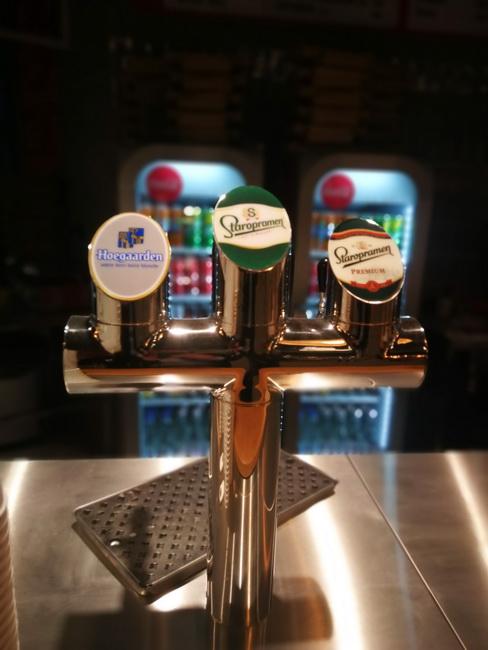 A csapolt sörök és az egyedi italválaszték a Burger Market egyik versenyelőnye