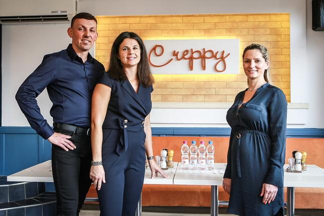 A Creppy Palacsintaház első franchise étterme Debrecenben. GasztroMagazin 2019.
