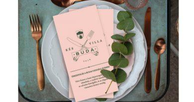 Kés-Villa-Buda. Elkészült Buda étlapja. GasztroMagazin 2019.