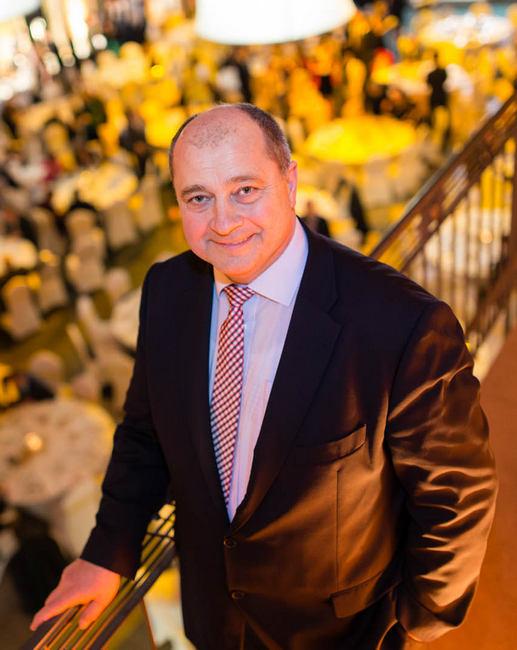 Kovács László, a Vendéglátó Ipartestület elnöke, a La Fiesta Party Service tulajdonosa, a Pro Gastronomia-díj egyik idei díjazottja. GasztroMagazin 2020.