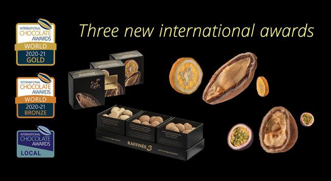 ChocoMe világsikerek az internatioanl Chocolate Awards világbajnoki döntőjében. GasztroMagazin 2021.