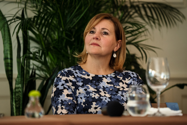 Tóth Andrea, a világkiállítás magyar ügyvezető igazgatója. GasztroMagazin 2021.