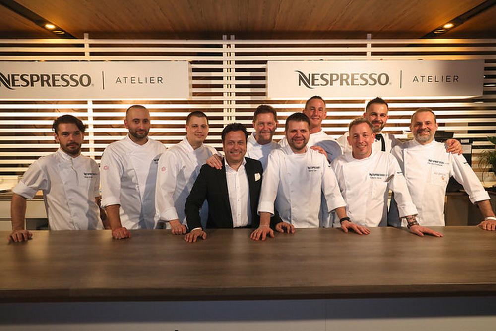 A Nespresso Atelier gasztro-szakértői csapata