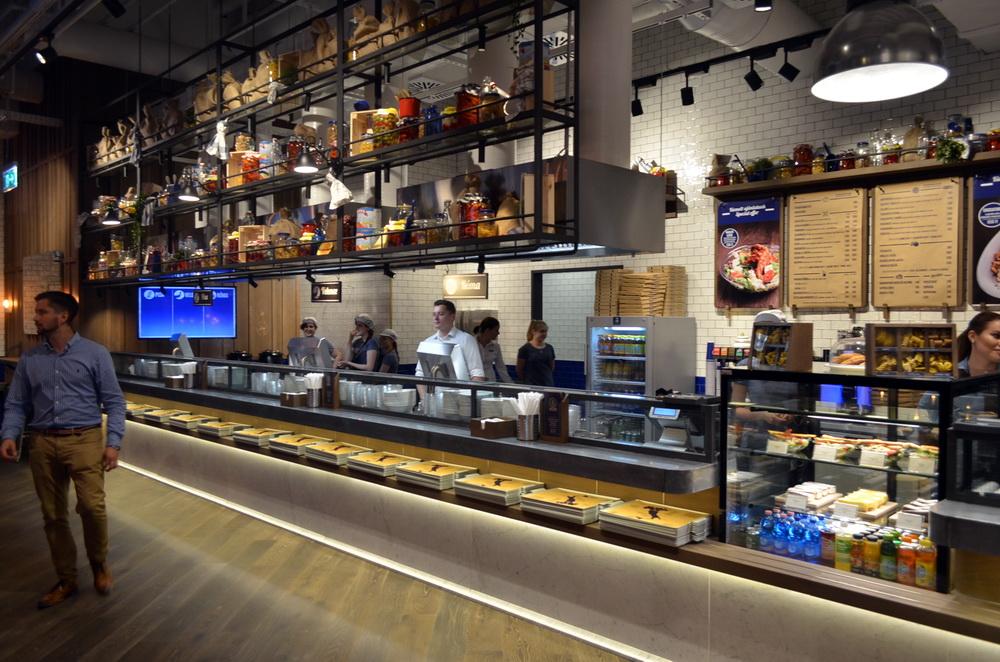A Bellozzo étteremlánc új étterme a Corvin Plazában nyitott meg.
