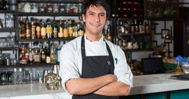Santiago Lastra, a mexikói származású sztár chef vendégszerepel 2019. áprilisában a St. Andrea Restaurant konyhafőnökével Barna Ádámmal. GasztroMagazin 2019.