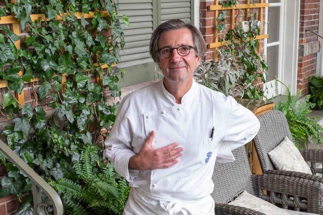 Olivier Roellinger francia szakácsverseny Budapesten a BGE és Dr Sándor Dénes szervezésében. GasztroMagazin 2019.