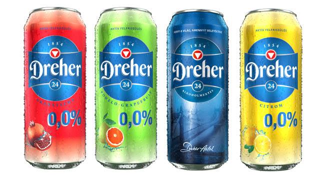 A Dreher új alkoholmentes sörei 2019. GasztroMagazin 2019.