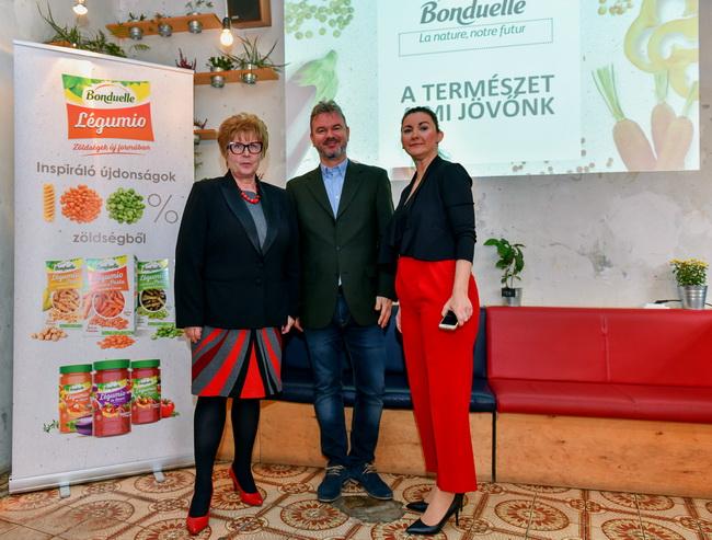 Bonduelle sajtótájékoztató a magyar lakosság zöldségfogyasztási szokásairól. GasztroMagazin 2019.