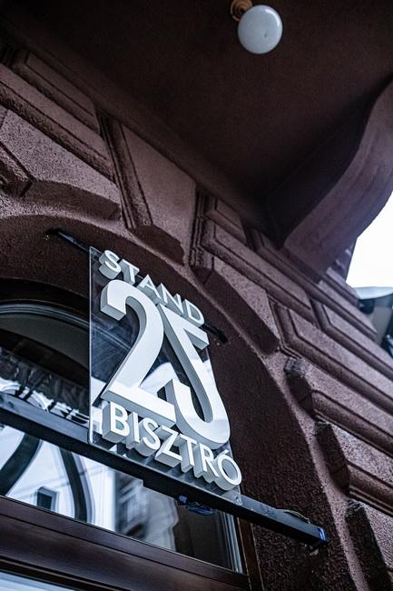 Stand25 Bisztró. Széll Tamás új budai étterme. GasztroMagazin 2019.