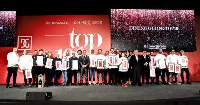A Volkswagen-Dining Guide Az Év Étterme díjátadó díjazottjai 2020-ban a Várkert Bazár rendezvényhelyszínen. GasztroMagazin 2020.