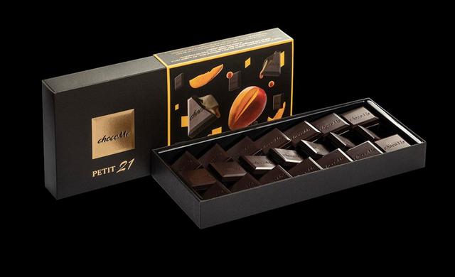 Petit Mango, a chocoMe egyik díjnyertes kompozíciója az International Chocolat Award-on. GasztroMagazin 2020.