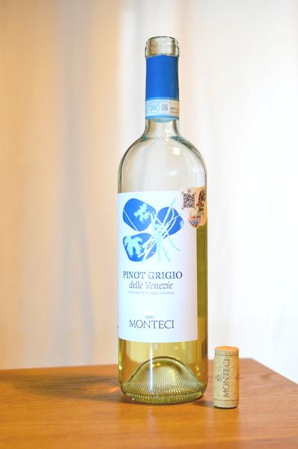 Monteci Pinot Grigio di Venezie 2019. GasztroMagazin 2020.