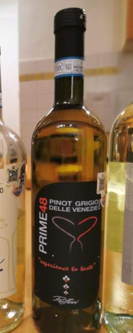 Prime 48 Ruffioli Pinot Grigio. GasztroMagazin 2020.
