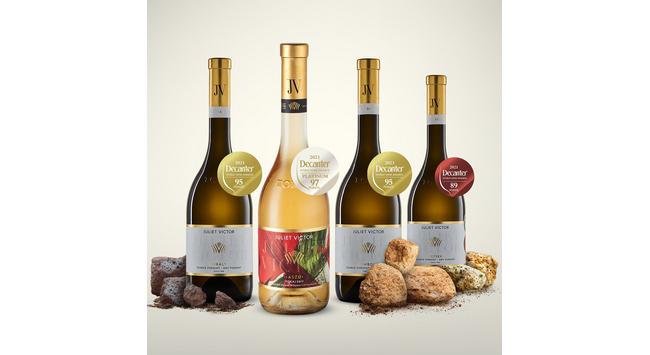 A Juliet Victor négy díjazott bora a 2021. évi Decaner World Wine Awards-on. GasztroMagazin 2021.