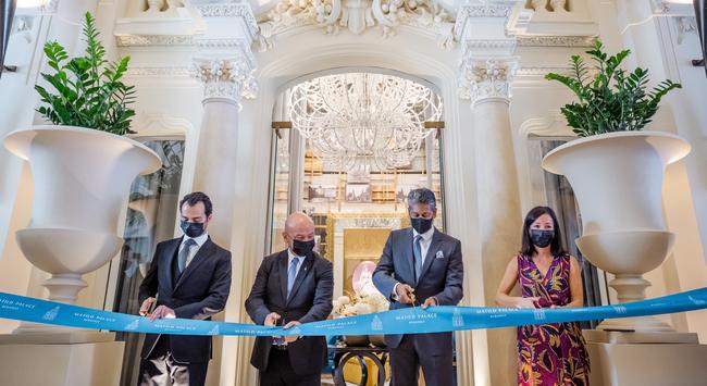 Ázadták a Luxury Collection Hotels első budapesti szállodáját a belvárosi Matold Palotában. GasztroMagazin 2021.