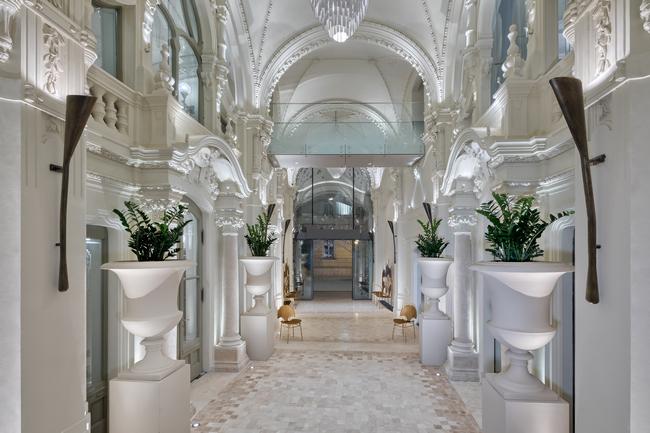 A Matild Palace történelmi passzázsa. GasztroMagazin 2021.