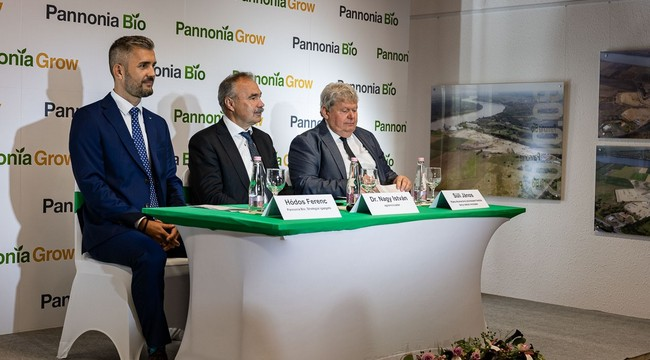 Biofinomítót adtak át Dunaföldváron. GasztroMagazin 2021.