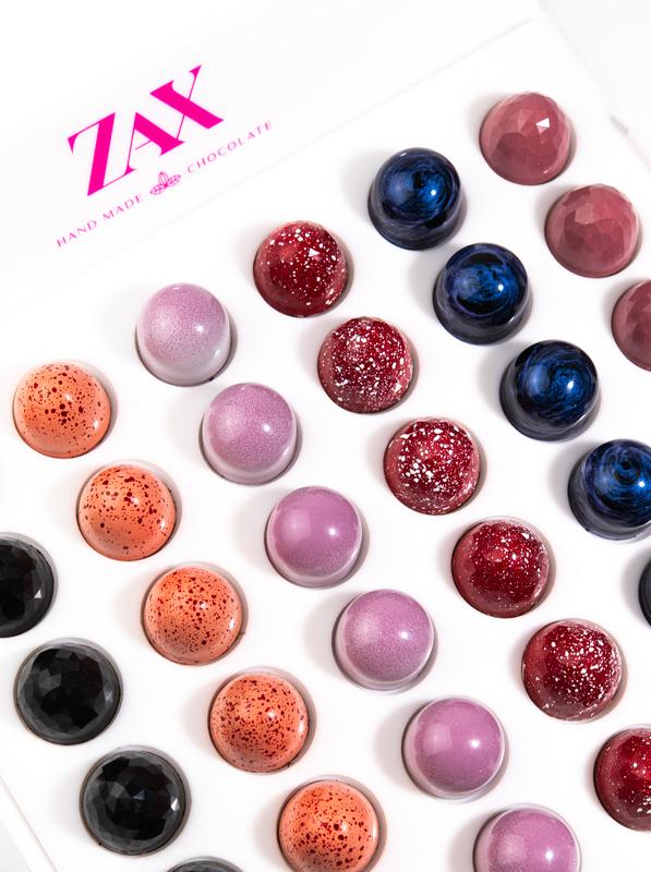 Díjnyertes ZAX csokoládék, a ZAX csokoládéműhely termékei. GasztroMagazin 2021.