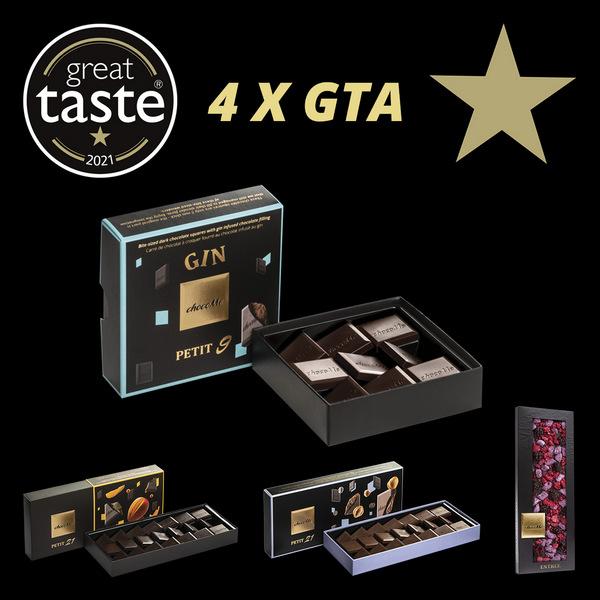4 Great Taste elismerést kapott a chocoMe. GasztroMagazin 2021.