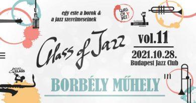11. Glass of Jazz. Cult in Glass. Wine & Jazz. GasztroMagazin 2021.
